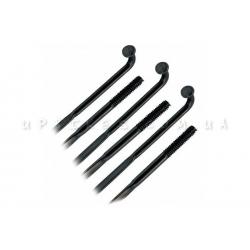 Спицы плоские (чёрные)