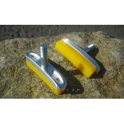 Тормозные колодки HeatSink «Yellow» CNC (V-pads)