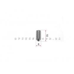 Винт ободной гидравлики (М6x10)