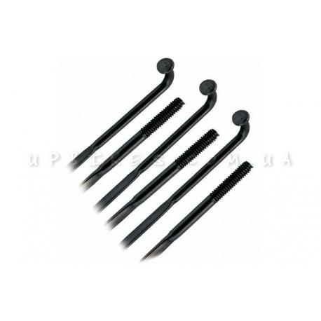 Спицы плоские (чёрные) *