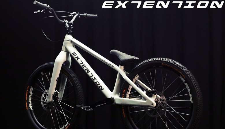 Upbikes - официальный представитель компании Extension Bike.